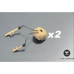 Acople para casco Zcomt Tan