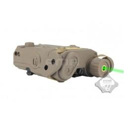 An Peq-15 láser verde