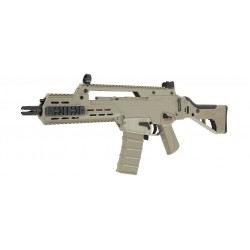 G33 Compact Assault Rifle Light Weight Folding Stock TAN ICS