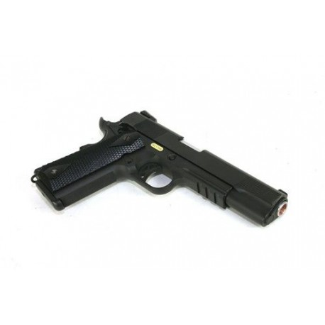 Pistola GBB 1911 Negra Full Metal de WELL