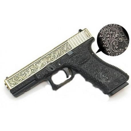 Pistola IVORY ENGRAVED WE-G004-BOX-IV