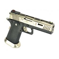 Pistola HI-CAPA 4.3 SILVER ALLOSAURUS WE