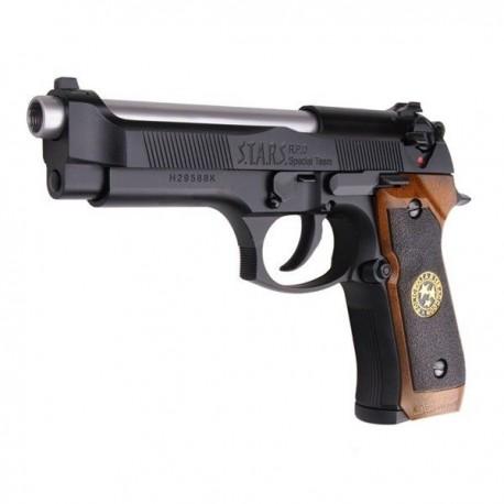 Pistola BIOHAZARD M92 BLACK GBB WE