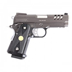 Pistola BLACK 3.8 C GBB WE