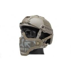 Mascara STARKER II Negro para casco Fast