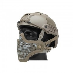 Mascara STARKER II Tan para casco Fast