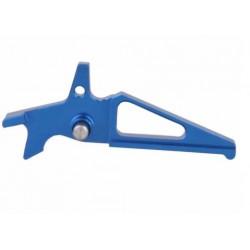 Gatillo de aluminio azul para AEG tipo M4
