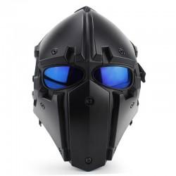 Mascara Obsidian A con lente malla y azul