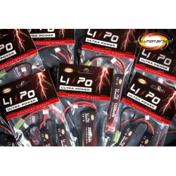 Batería Li-Po 7.4V 1300 mAh 20C-40C Evolution