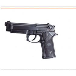 Pistola Vertec KJW con cargador de gas.