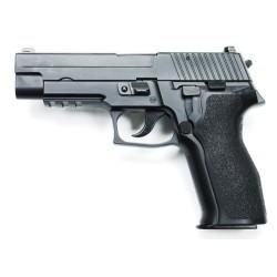 Pistola KP01 P226 E2 KJW con cargador de gas.