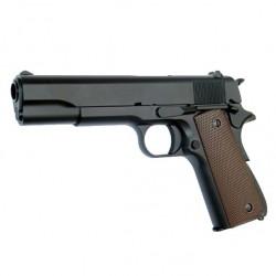 Pistola 1911 Full Metal KJW con cargador de gas.
