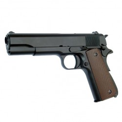 Pistola 1911 Full Metal KJW con cargador de CO2.