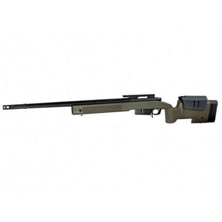 Fusil McMillan M40A5 VFC Sniper ProLine OliveDrap - 6 mm Gas
