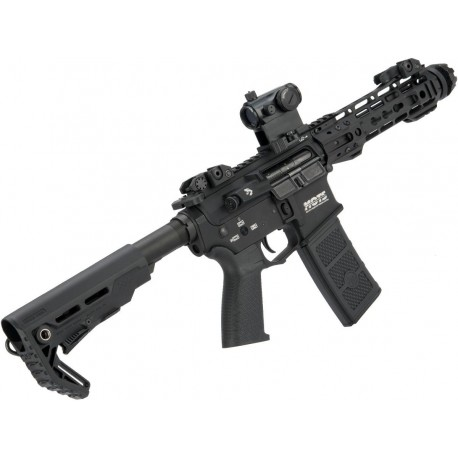 """G&P Transformer Compact M4 Airsoft AEG with QD Front Assembly (Version: 8"""" Cutter Brake)"""