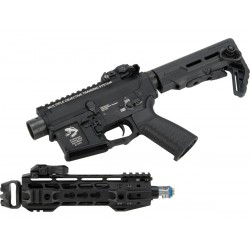 "G&P Transformer Compact M4 Airsoft AEG with QD Front Assembly (Version: 8"" Cutter Brake)"