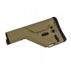 UKSR Precision Adjustable Stock (W/O Stock Tube)-TAN