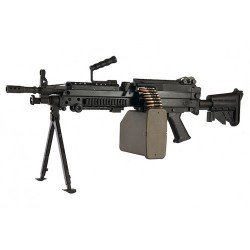 G&P M249 SAW Airsoft AEG Rifle