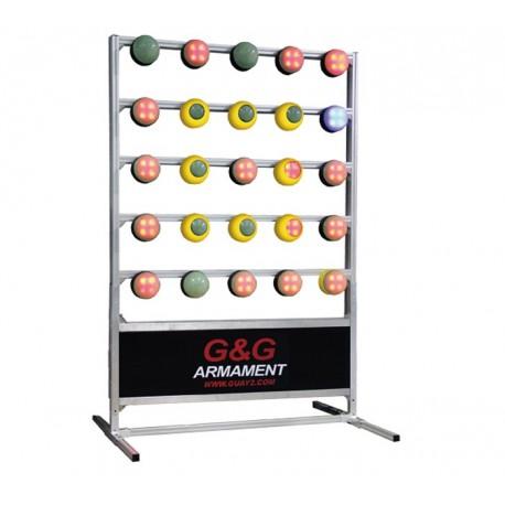 G&G 5 x 5 Target System (Ver. 3 MET - Timer Included - Complete Set)