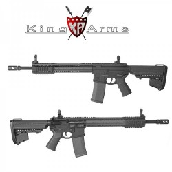Subfusil King Arms Black Rain Ordance- Carabine Negro AEG - 6mm