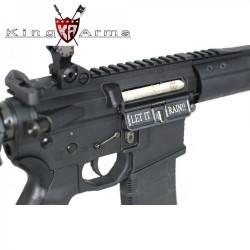 Subfusil King Arms Black Rain Ordance- Rifle Negro AEG - 6mm