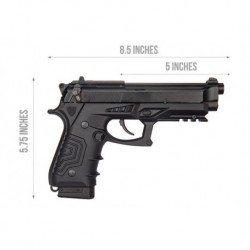 Pistola HFC CO2 ESTILO M92 HCA-173BBC