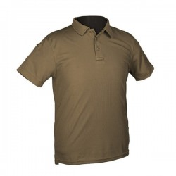POLO TACTICO IMMORTAL WARRIOR M/CORTA TAN