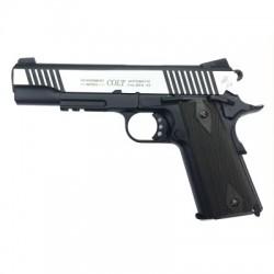 COLT 1911 RAIL GUN DUAL TONE