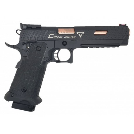 Army Armament/Jag Precision - Replica Licenciada John Wick 3 Master GBB Full metal Negro