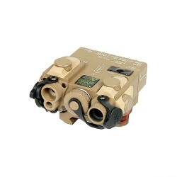 G&P PEQ Dbal Laser and Infrared Designator with IR Illuminator Tan