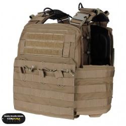 Chaleco TMC Combat Plate Carrier Vest 2016 Version Coyote