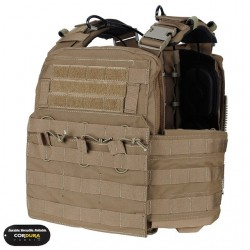 Chaleco TMC Combat Plate Carrier Vest 2016 Version Coyote