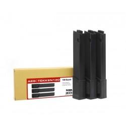 Pack 3 cargadores Ronin tk45 mid cap 120 bbs.