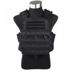 Chaleco TMC Combat Plate Carrier Vest 2016 Version BK
