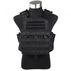 Chaleco TMC Combat Plate Carrier Vest 2016 Version BK