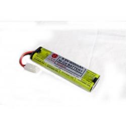 Batería KR-600AE 9.6V 600 mAh Cadnica Extra Sanyo