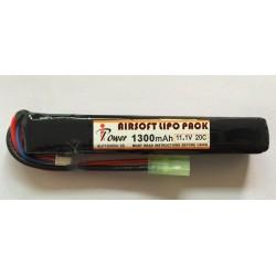 BATERÍA LI-PO 1300MAH 11,1V 20C de tubo IPower