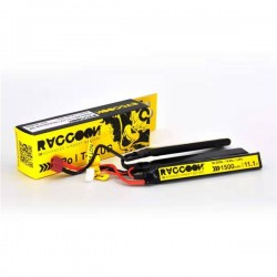 Batería Li-Po Raccoon Pro 11.1V 1500 mAh 25/50C Nunchuck 3x