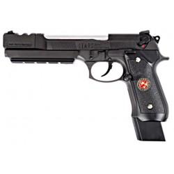 Pistola BIOHAZARD M92 EXTENDED BLACK GBB WE