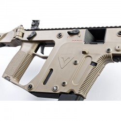 Kriss Vector Krytac AEG SMG dark earth