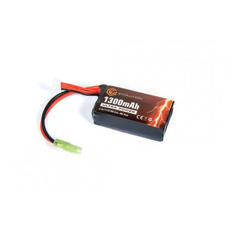 Batería Li-Po 11.1V 1300 mAh 20C-40C Evolution