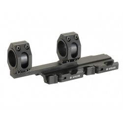 Tactical rail extended mount base QD 25 - 30mm AIM-O