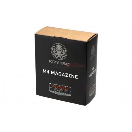 Magazine M4 Midcap 150rds 5-pack