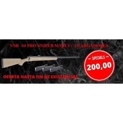 Pack VSR-10 Desert Pro Sniper Tokyo Marui + 3 cargadores