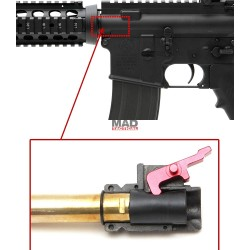 LEVA INTERNA CAMARA HOP UP FIRST FACTORY ALUMINIO STRIKE HOP ARM FOR TOKYO MARUI M4 GBBR (MWS / CQBR / CARBINE)