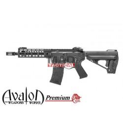 Subfusil Vega Avalon Premium Samurai Edge AEG CQB - 6 mm Negro VFC