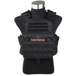 Chaleco CPC TMC Combat Plate Carrier Vest 2019 Version Black
