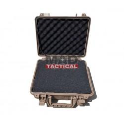 Maletín rígido FMA Tactical para pistola (TAN)