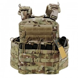 Chaleco Conquer Combat Plate Carrier (sin backpack)