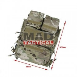 PANEL C/ZIPPER A2 CONQUER APC/CVS MULTICAM